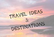 Travel | IDEAS & DESTINATIONS / Hey there! Are you someone who can't decide where your next trip should be?Check out these travel destinations to help you figure out your next travel move. Travel pictures, travel guides, and travel inspiration are throughout these pins. #travel, #travelideas, #trips