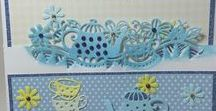 Spring/Summer - Dies, Stamps and Folder Collections 2018 / A versatile collection of dies, embossing folders and stamps with a Spring and Summer Theme