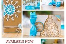 Winter Wonderland - Sara Signature Collection / The lovely Winter Wonderland collection from Sara Davies is a fully coordinating range that includes twine, embossing powder, foil transfers and rolls, stamp and die sets, embossing folders, dies, stamps and a paper pads. Perfect for all your winter occasions, this collection will definitely add a festive touch to your projects with its truly intricate theme.