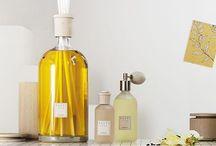 クルティとインテリア / 1990年にイタリアで創業されたクルティは、SPAリゾートやホテルへアメニティグッズを提供している香りのブランドです。