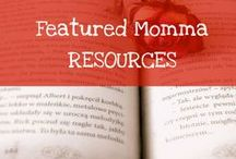 Featured Busy Momma Resources / Some of my featured overall parenting resources and links from my Mommy and Parenting Blog