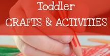 Toddler Crafts and Activities / DIY and Crafts that toddlers of busy mommies might like!