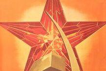 Soviet posters / Soviet posters/Régi Szovjet plakátok.
