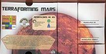 Robin Dunoyer / Des boites pour organiser le jeu Terraforming Mars Boxs, tray, organizers for Terraforming Mars