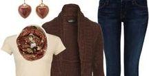 Moda Outono/Inverno / Inspirações de looks para dias frios.