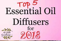 Essential Oils and Diffusers /  Our favourite Essential Oils and Diffusers. With some of favourite blends, and even a guide to the best diffusers on the market in 2018
