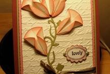 Cards - With Dahlia Fold Flower