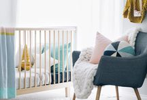 Nursery Ideas / Round up of nursery ideas, diy tutorials and sewing projects.