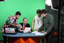 Notinews. Así se hizo / Cómo se hizo el rodaje de Notinews, con artistas como Willy Toledo, Javier Gutiérrez, Aitor Merino y René de la Cruz  / by Cubainformación.tv