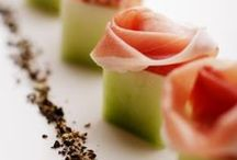 BEAUTIFUL food...appetizers & sides... / Temping appetizers that are also works of art....