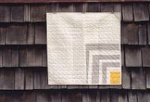 Modern Baby Quilts / Inspiration, project ideas and tutorials for modern baby quilts.