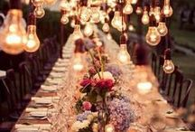 Pretty Table Settings / by Cherry Blossom Charm