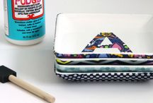 DIY: Mod Podge / A round up of awesome Modge Podge projects
