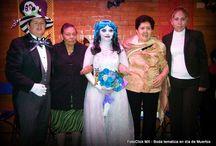 Boda Civil en día de muertos / Durante un Día de Muertos, con gran ilusión y desbordando alegría y amor, una encantadora pareja llegaron hasta el altar para realizar su boda civil.  #boda #bodas #bodacivil #diademuertos #DíaDeMuertos #halloween