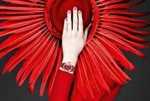 Red Fashion, Accessories, & Inspiration / What's not to love about red, red, red?