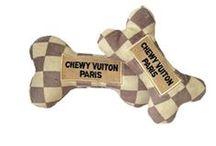 Designer Parody Dog Toys