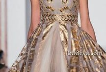 Gold Fashion / Golden dresses and accessories...