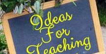 Ideas for Teaching - Teacher Pinning / May post 2 personal product pins per day. Additional pin types - ideas, relevant blog posts, and teacher/student encouragement may be pinned as well and are encouraged to provide inspiration, variety and appeal to the board.  Duplicate posts are subject to deletion. Avoid consistently repeating pins. Please pin other seller's posts from the board in the spirit of collaboration! Follow me and send a message to  skdesignstpt@gmail.com to join.
