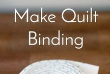 Quilting: Binding