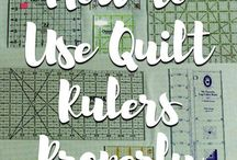 Quilting: Rulers & Mat
