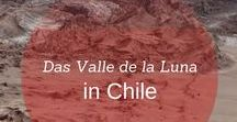 Das Valle de la Luna (Mondtal) in Chile / Das Valle de la Luna befindet sich bei San Pedro de Atacama und zählt zu den schönsten Landschaften in Chile.