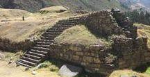 Chavin de Huantar - geheimnisvolle Ruinen in Peru / Die Ruinen von Chavin de Huantar befinden sich unweit von Huaraz in Zentralperu. Es handelt sich historisch gesehen mit um die wichtigste Stätte in Peru.