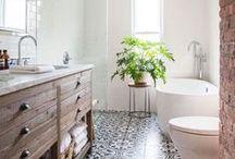 baño / un baño relajante para recuperar fuerzas...