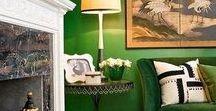 Verde Habitazone / Inspírate con el verde, las posibilidades son infinitas!