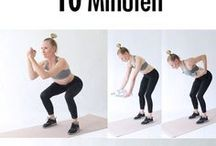 Workout für Frauen / Du suchst knackige, effektive Workouts? Inspirationen zu deiner Fitness? Trends im Workout wie z.B. Training mit einem Bosu, mit TRX Bändern, mit Kettlebells, etc. Dann schau hier rein.