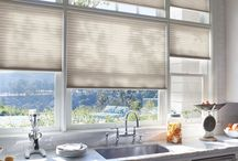Cellular Shades / Cellular shades are the most insulating shades on the market. Simple but yet stylish, cellular shades come in a variety of colors and textures.
