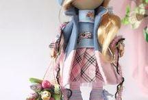 Beautiful handmade dolls