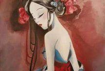 I miei dipinti / L'arte come espressione interiore e fuga dalla realtà