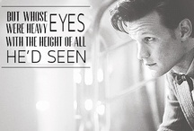 Doctor Who  / Doctor Who. Those 2 words say it all.  / by Anza