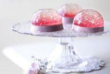 Gelatine and agar desserts