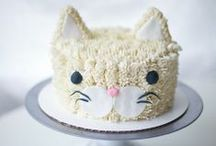 Delightfully decorated cakes
