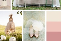 Wedding Color Palettes / by ForHerandForHim