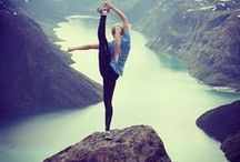 balanced body / crossfit, yoga, pretty much any sort of hot body