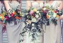Wedding flowers / Beautiful arrangements and wedding bouquets // Inspiration for your big day.