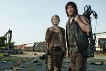 The Walking Dead (otherwise known as the Daryl Dixon appreciation board)  / :) / by Anza