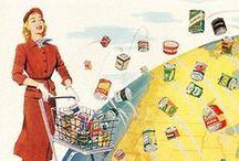 At the vintage supermarket
