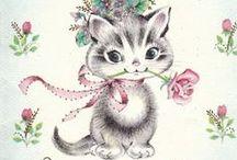 Adorable vintage illustrations