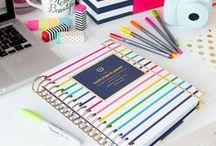 Agenda/Planner / Paper planner agenda planification stationery