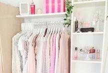 Closet Organization / Clothes closet organization