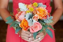 Colour Inspo: Bright Summer Colours / All things bright and beautiful! Gorgeous pops of colour for a sunny summer wedding.