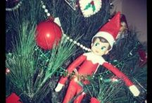 Elf on the Shelf 2013 / My girls love this thing...Elf On the shelf pics!  I wish I invented it lol.