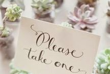 Bomboniere inspiration / Bomboniere are that little something you give your guests to say thank you for their support. We have put together some clever ideas to get you started.