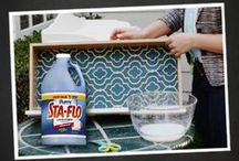 Sta-Flo DIY Crafts / Sta-Flo isn't just for clothes! Check out these great do-it-yourself crafts. / by Purex