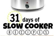S is for Slow Cooking / Things I have cooked, or want to cook in the slow cooker.