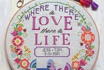 Cross stitch creativity