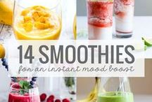 U is for Unbelievable Smoothies and Juices / Looking for recipes and ideas for smoothies and juices to put my two gadgets to the test